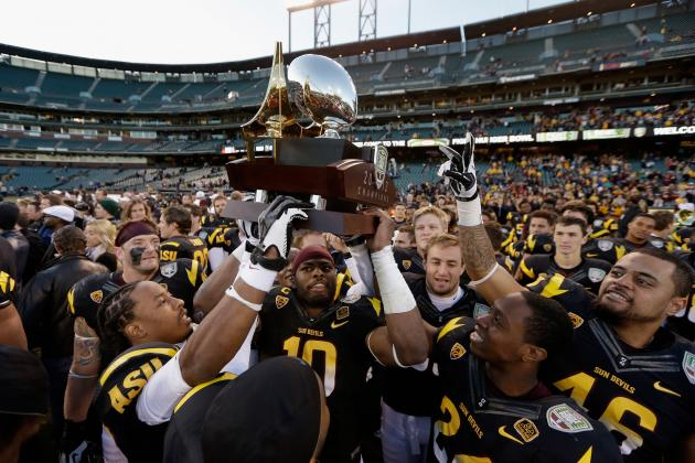 Arizona State Football: Grading All 22 Starters from the Kraft Fight Hunger Bowl