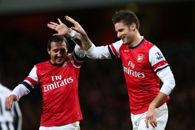 Arsenal: 6 Biggest Areas in Which the Gunners Can Improve in 2013