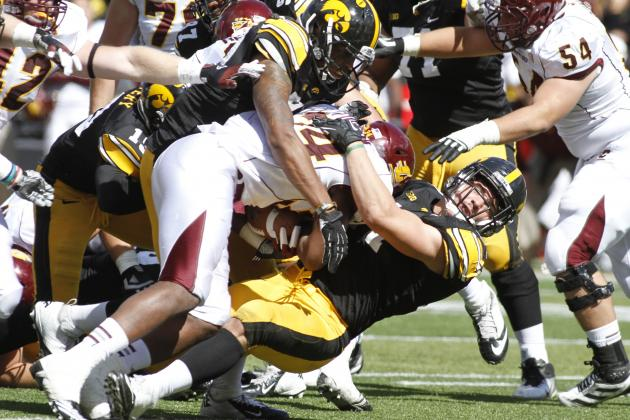 Iowa Football: Projecting the Hawkeyes 2013 2-Deep Depth Chart