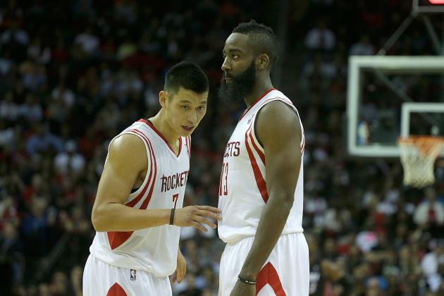 James Harden-Jeremy Lin and the Top 5 NBA Backcourts Under 25 Years Old