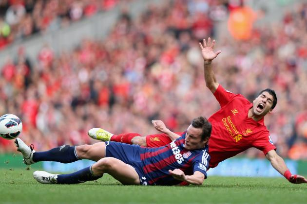 10 of the Most Memorable Football GIFs of 2012 (or Luis Suarez' Best Fall)