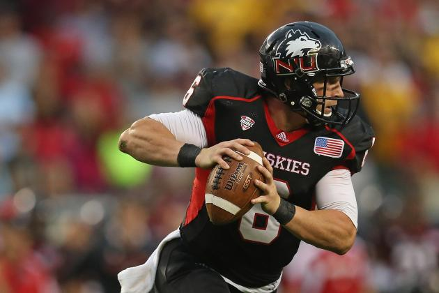 NIU vs. Florida State: How Jordan Lynch Matches Up with Other Top QBs This Year
