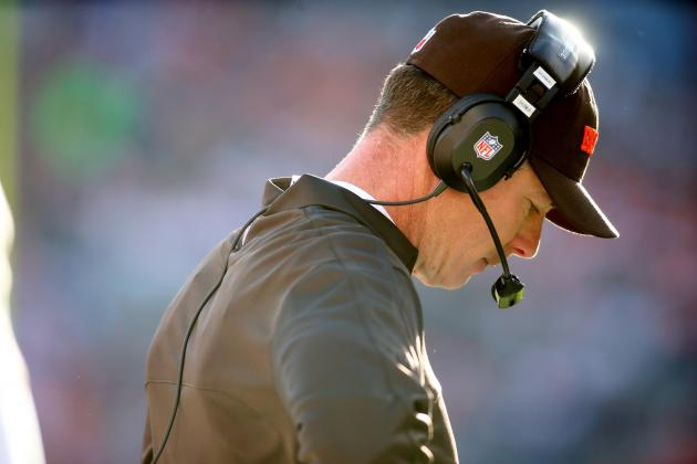 Cleveland Browns: Pat Shurmur's Biggest Mistakes of 2012