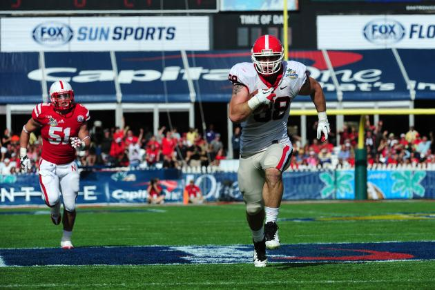 Capital One Bowl 2013: Grading Georgia and Nebraska's Performances