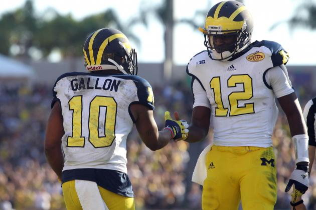 Michigan Football: Grading All 22 Starters from the Outback Bowl