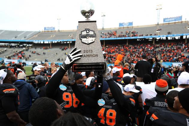 Oklahoma State Football: Grading All 22 Starters from the Heart of Dallas Bowl