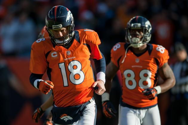 Grading Every Denver Broncos Starter's 2012 Regular Season