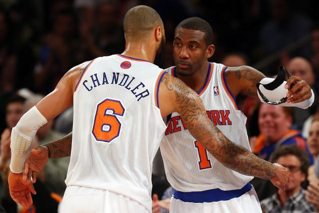 NY Knicks Who Benefit Most from Amar'e Stoudemire's Return
