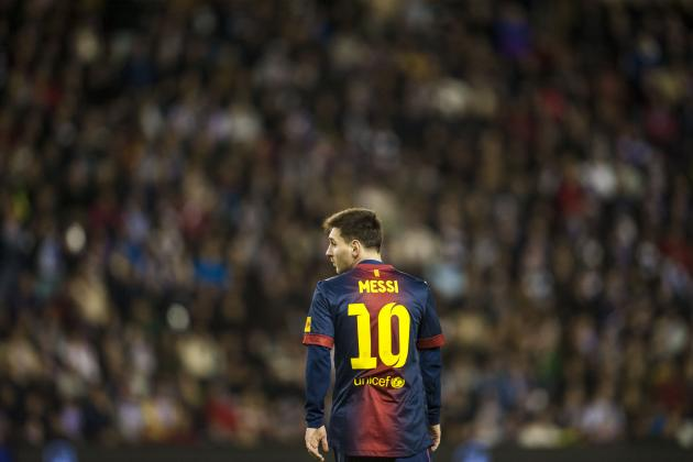 Lionel Messi Leads La Liga's Midseason Best XI for the 2012-13 Season