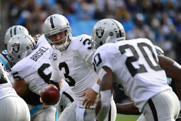 Oakland Raiders: Grading Every Starter's Season in 2012