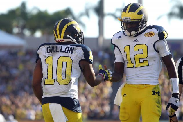 Michigan Football: 5 Important Takeaways from Wolverines' 2013 Outback Bowl Loss