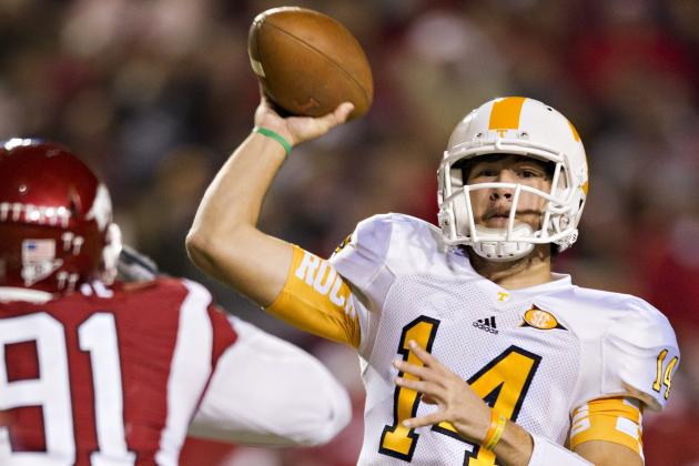 Tennessee Football: Projecting the Vols' 2013 Offensive Depth Chart