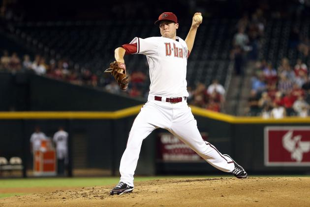 Ranking the Top 10 Prospects in the Arizona Diamondbacks' Farm System