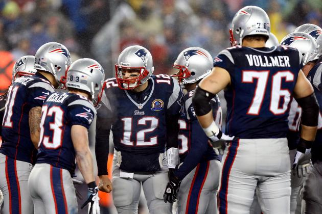 Grading Every New England Patriots Starter's 2012 Regular Season