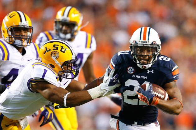 Auburn Football: Projecting Auburn's 2013 Offensive Depth Chart