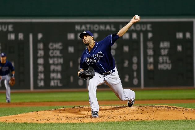 Ranking the American League East Starting Rotations Entering 2013