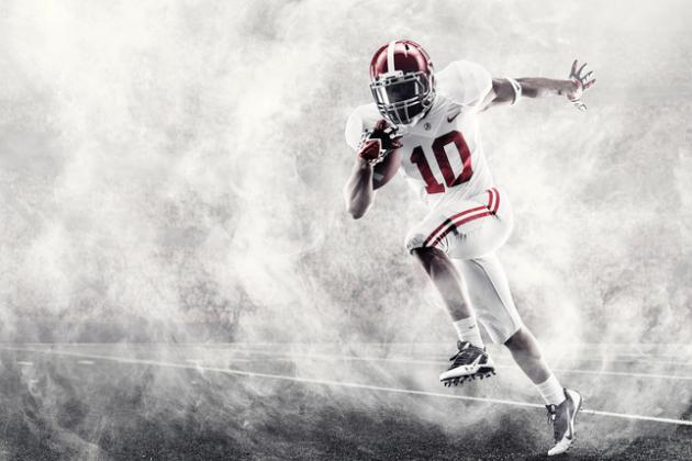 Grading Alabama's New Nike Pro Combat Uniforms for BCS Title Game vs. Notre Dame