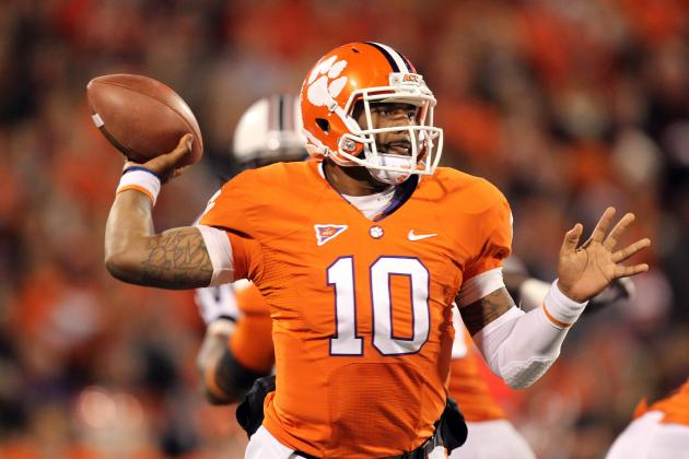 Power Ranking the Top 10 QBs in the 2013 NFL Draft