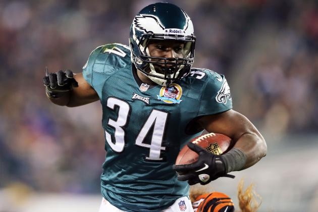 Philadelphia Eagles: Grading Each Player's Performance in 2012 (Offense)