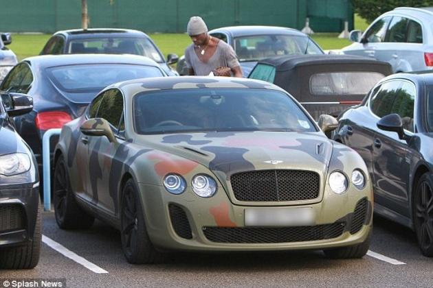 20 Sweetest Cars Owned by Footballers
