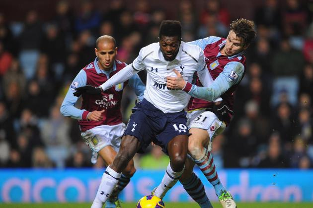 5 Reasons Tottenham Should Sell Emmanuel Adebayor in January