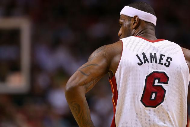 NBA Player Power Rankings: LeBron James Putting League on Notice