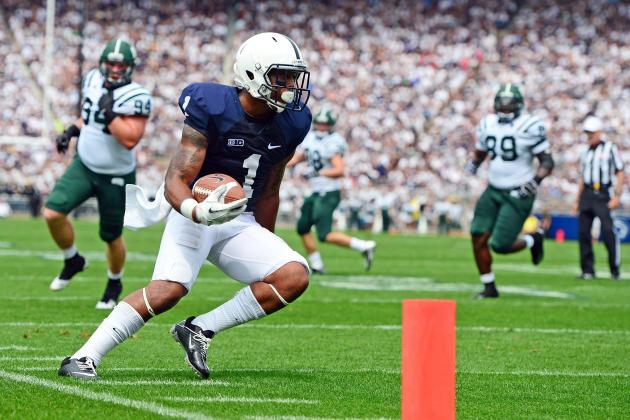 Penn State Football: 4 Starting Position Battles to Watch for 2013