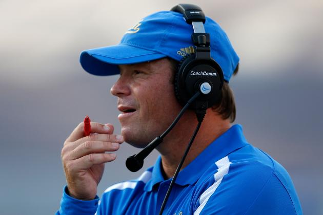 UCLA Football: 4 Biggest Adjustments Jim Mora Needs to Make This Offseason