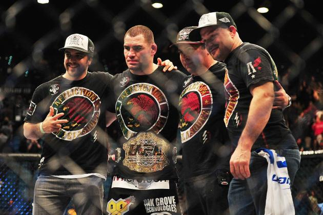 Memorable MMA Moments from December 2012