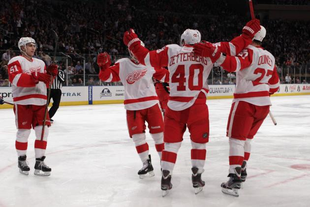 Detroit Red Wings Roster: A Look at Their Depth Chart for 2013 NHL Season