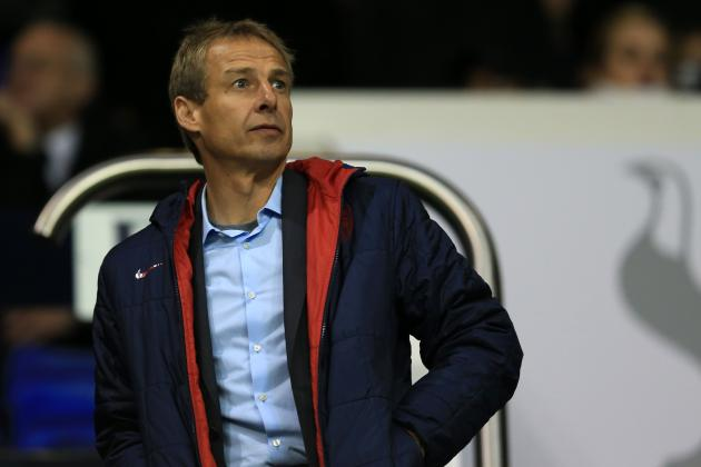 Breaking Down Jurgen Klinsmann's U.S. Roster for the January Camp