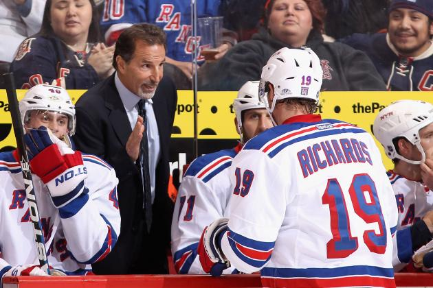 2013 NHL Season: What Could the New York Rangers' Lineup Look Like?