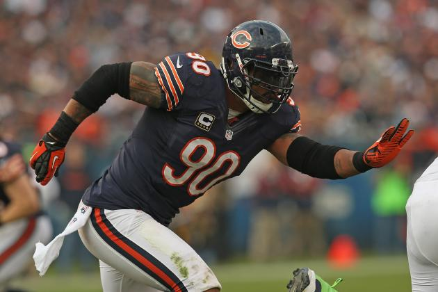 Keep, Trade, or Cut Every Player on the Chicago Bears' Roster