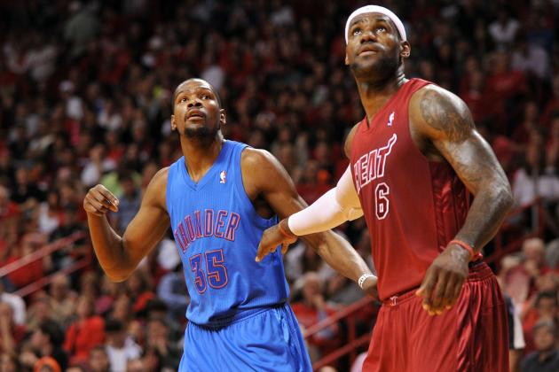 NBA MVP Odds: King James Getting Stiff Competition from Kevin Durant