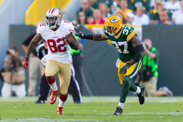 Packers vs. 49ers: 4 Subtractions on Offense for San Francisco in 2012 Playoffs