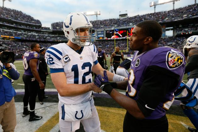 Grading Andrew Luck's Rookie Season Following Playoff Loss to Ravens