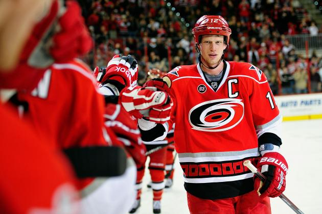 2013 NHL Season: Projecting Carolina Hurricanes' Opening Day Depth Chart