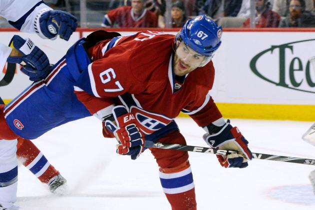 Montreal Canadiens: A Look at Their Depth Chart for 2013 NHL Season