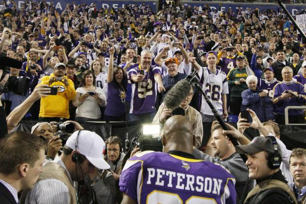 Minnesota Vikings: The 10 Defining Moments of Minnesota's 2012 Season