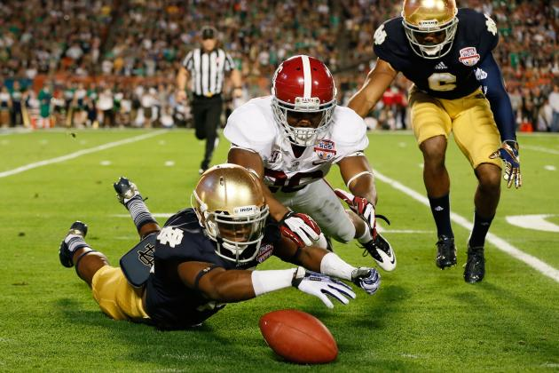 Notre Dame vs. Alabama: 5 Biggest Disappointments in 2013 BCS Championship Game