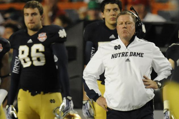 BCS Championship 2013: Who's to Blame for Notre Dame's Embarrassing Loss?