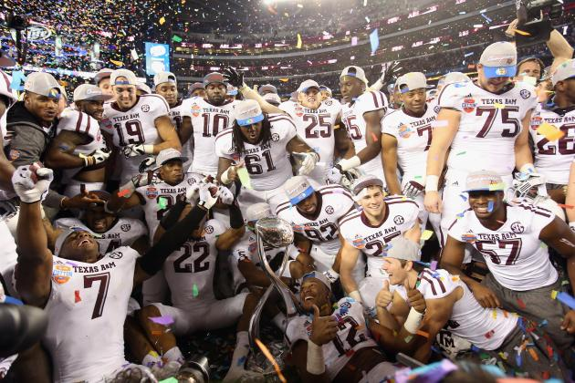 Texas A&M Football: Grading the 22 Starters from the Cotton Bowl Win