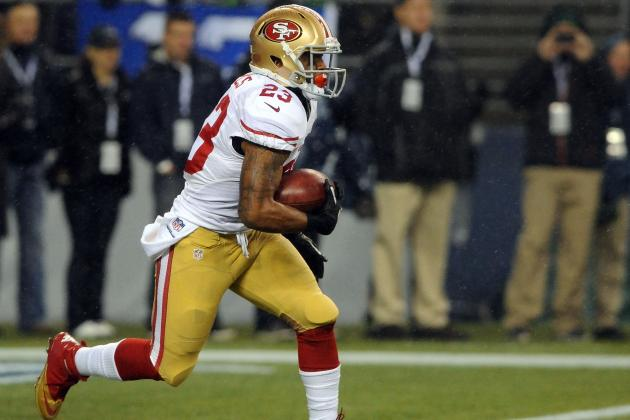 San Francisco 49ers: Regrading 2012 Rookies at the End of the Regular Season