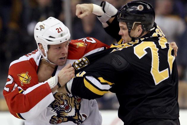 NHL: Power Ranking the Top 10 Fighters Heading into the 2013 Season