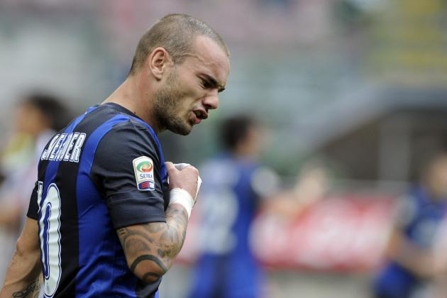 Wesley Sneijder and Hottest Transfer Rumors That Won't Happen This January