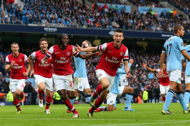 Picking the Strongest Possible Arsenal XI to Take on Manchester City