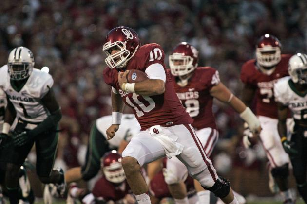 Oklahoma Football: 5 Ways Offense Will Change with Blake Bell at QB