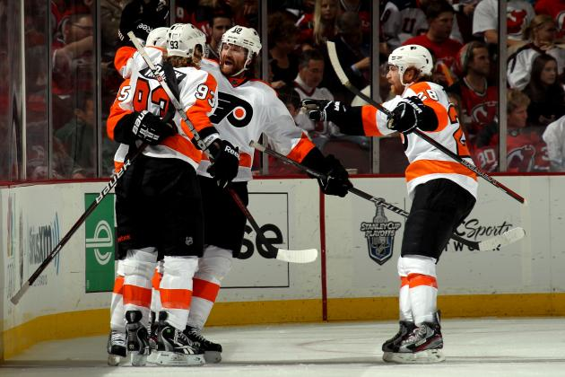 Philadelphia Flyers: A Look at Their Forward Depth Chart for 2013 Season
