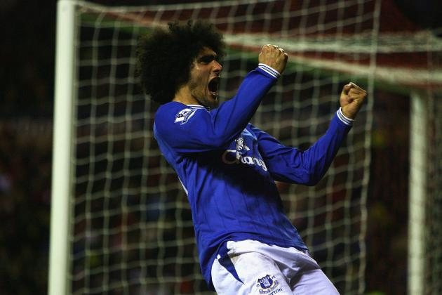 Ranking Marouane Fellaini's 6 Best Goals for Everton