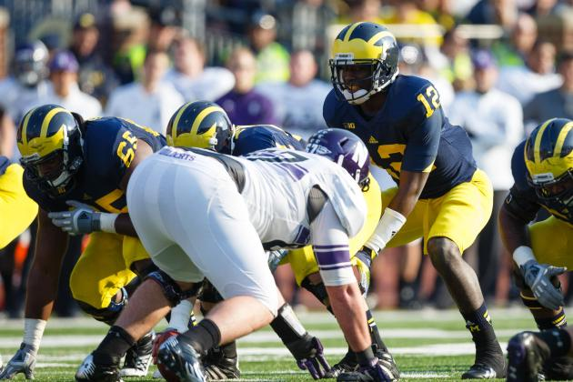 Michigan Football: Projecting the Wolverines 2013 2-Deep Depth Chart